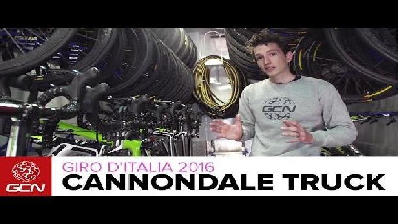 Binnenkijken in de Cannondale-teamtruck (VIDEO)