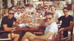 Les champions à Ibiza