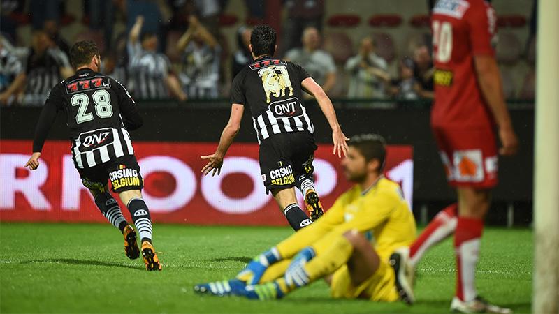 Charleroi wint Play-Off 2 na zege in Kortrijk