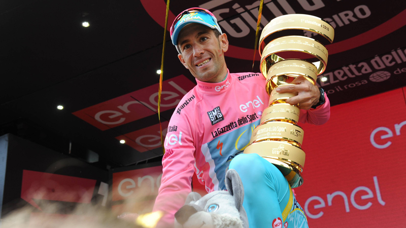 Nibali glundert na tweede eindzege in de Giro