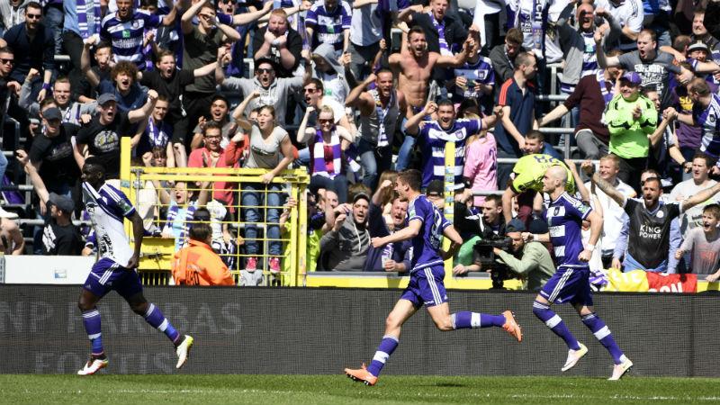 Anderlecht herstelt zich in eigen huis tegen AA Gent