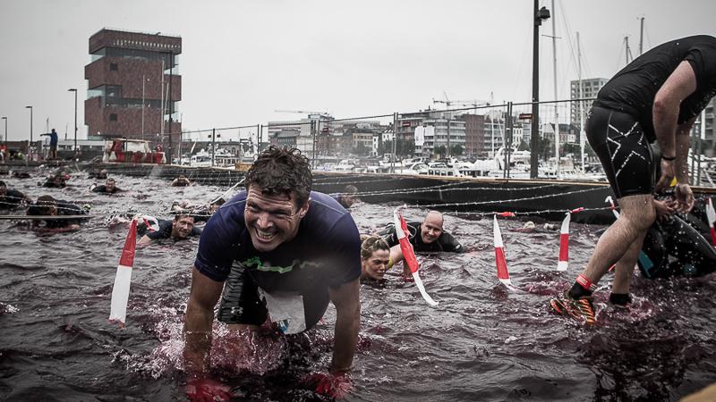 Wereldprimeur voor Fisherman's Friend StrongmanRun in Antwerpen
