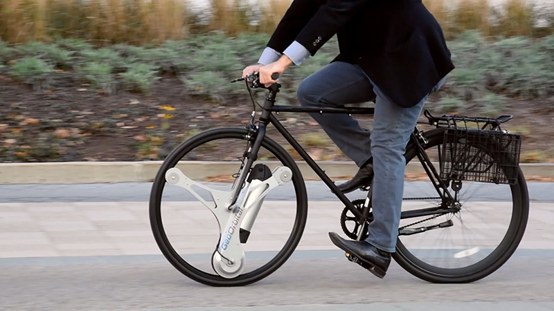 Voorwiel fiets eruit halen