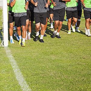 Schema: Zomers loopprogramma voor voetballers
