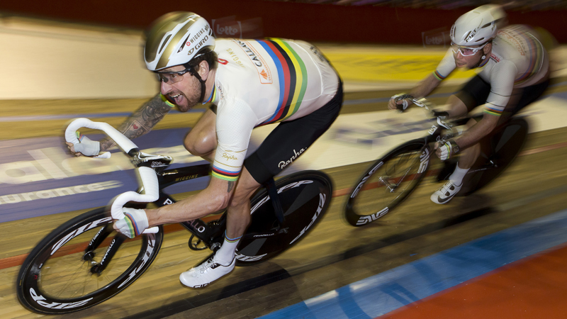 Cavendish and Wiggins win Lotto Six Days of Flanders-Ghent