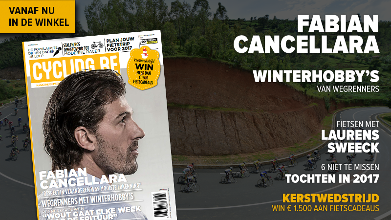 Decembernummer cycling.be magazine in de winkel!
