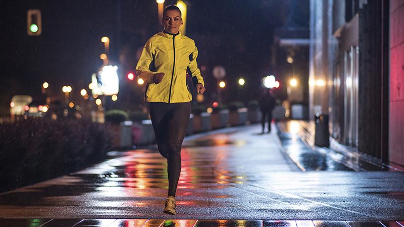Hoe eet je overdag als je 's avonds gaat lopen?