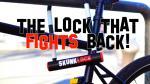 SkunkLock: fietsslot met drie gassen tegen diefstal