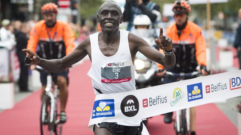 Kering wint Belfius Brussels Marathon