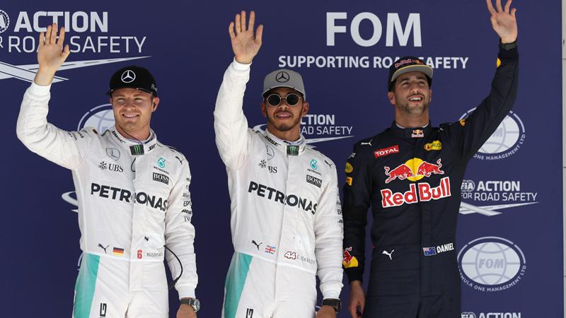 Hamilton fait ce qu'il faut, Rosberg aussi…