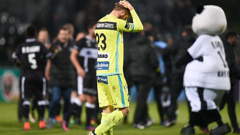Eupen wint van Gent na knotsgek einde