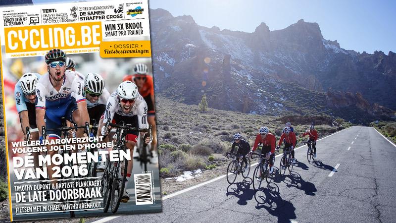 Novembernummer cycling.be magazine nu in de winkel!