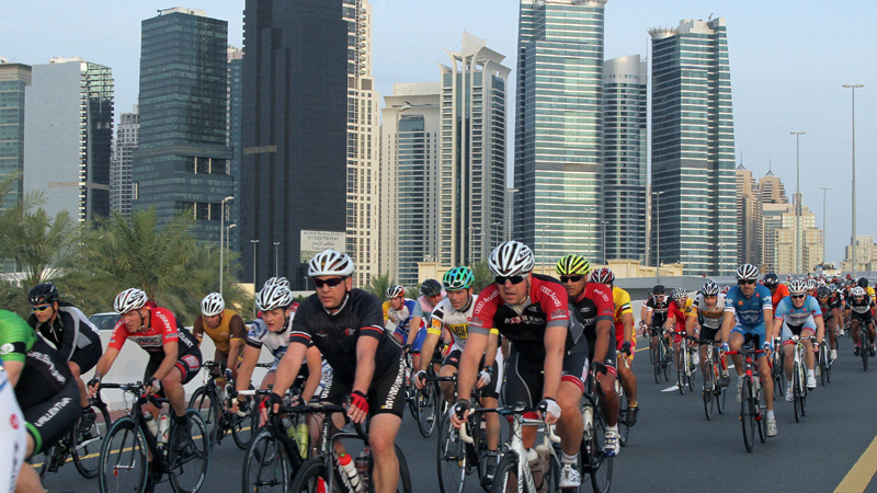 Spinneys Dubai 92 Cycling Challenge joins the UCI Gran Fondo World Series