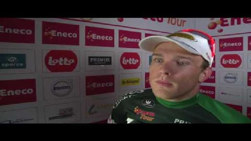 Eneco Tour: Reactie Bert Van Lerberghe na etappe 1