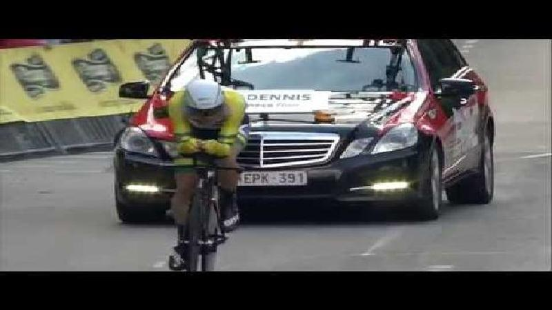 Eneco Tour: Race highlights time trial
