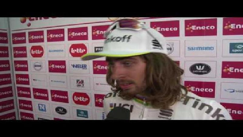 Eneco Tour: Reaction Peter Sagan after stage 4