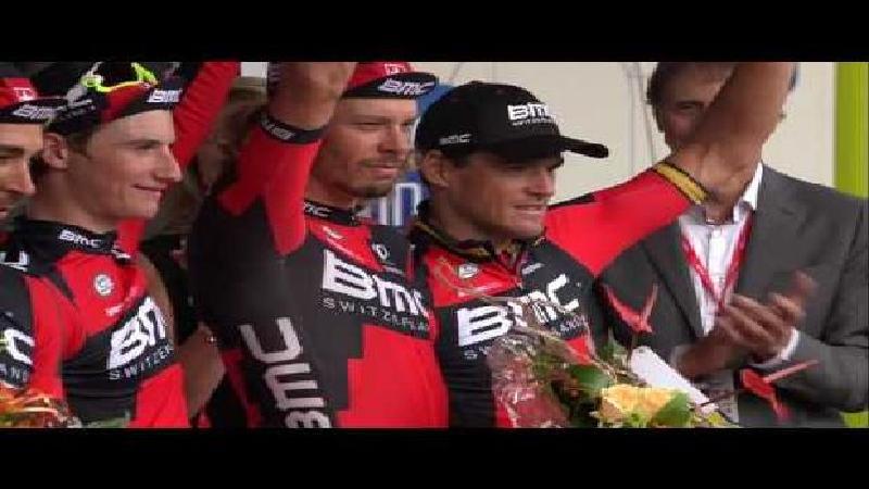 Eneco Tour: Reactie Greg Van Avermaet na ploegentijdrit