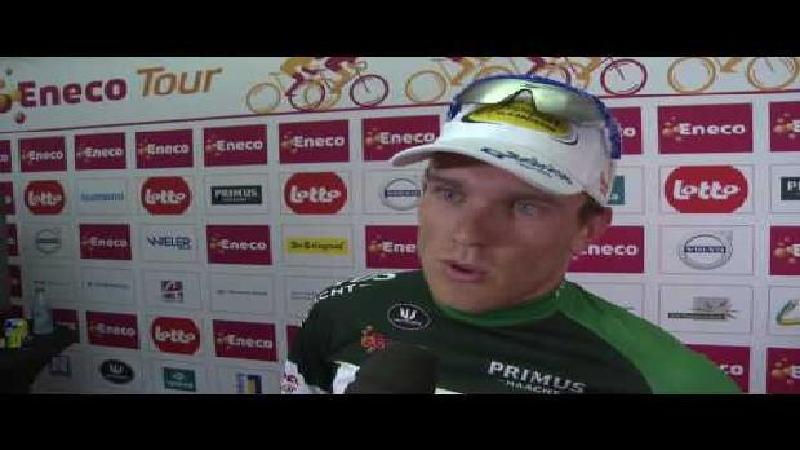 Eneco Tour: Réaction de Bert Van Lerberghe après la 6e étape