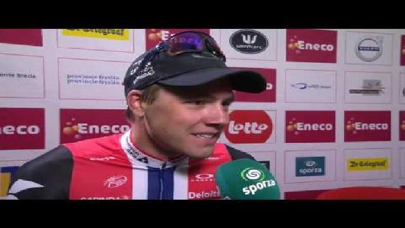 Eneco Tour: Reaction Edvald Boasson Hagen after stage 7