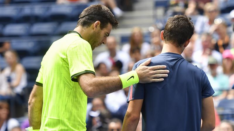 US Open. Wawrinka affrontera Del Potro en quart de finale