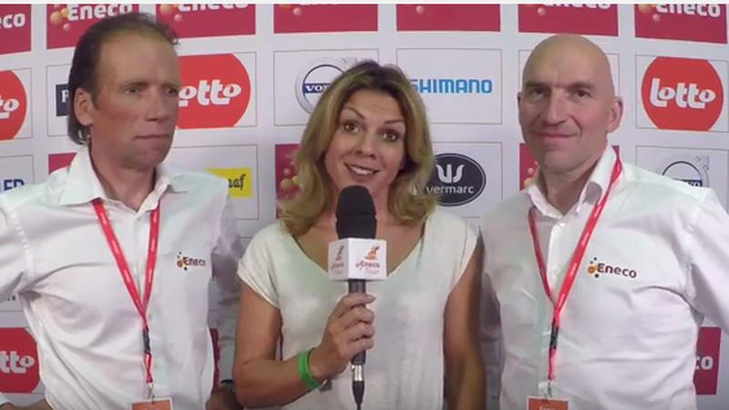 Henk & Ludo tippen BMC in ploegentijdrit