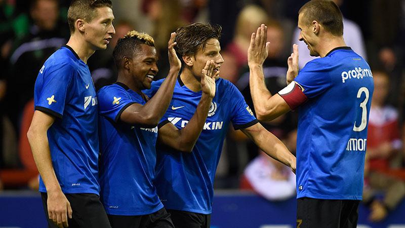Club Brugge boekt makkelijke uitzege bij Moeskroen