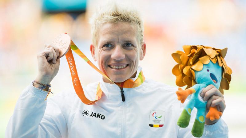 Diest huldigt Marieke Vervoort voor medailles op Paralympics in Rio
