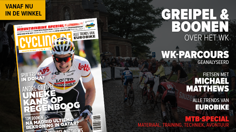 Oktobernummer cycling.be magazine nu in de winkel!