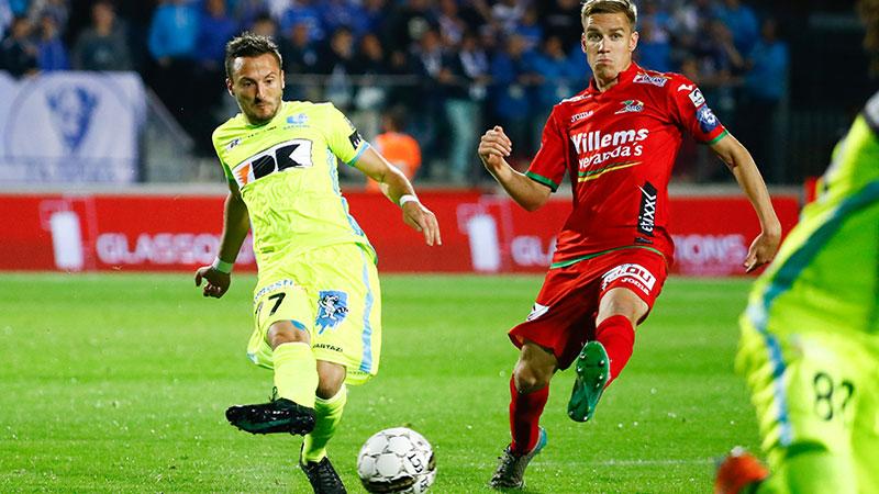 Samenvatting KV Oostende - AA Gent