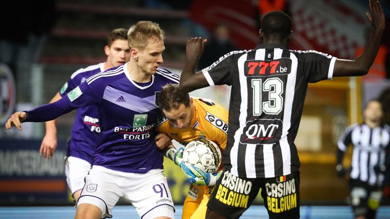 20u30 LIVE: Anderlecht - Charleroi