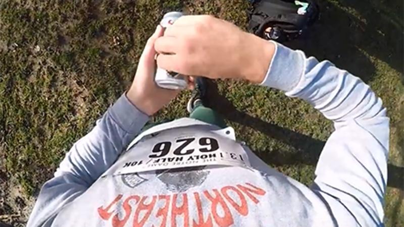 Loper drinkt 13 pintjes tijdens (!) halve marathon