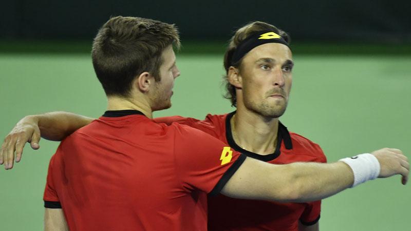 La Belgique vers les demi-finales ? (1/1) — Coupe Davis