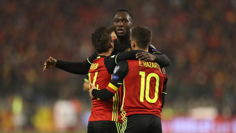 Hazard et Lukaku parmi l'Equipe de l'année en Premier League