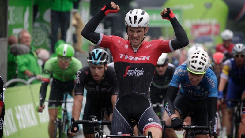 Theuns wins in Lanaken after Lampaert attack