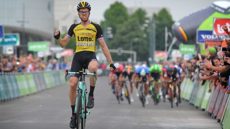 Lars Boom wint mini-versie van Amstel Gold Race