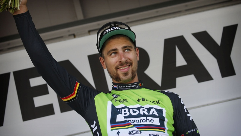 Sagan: 'My body was second, my bike was faster'
