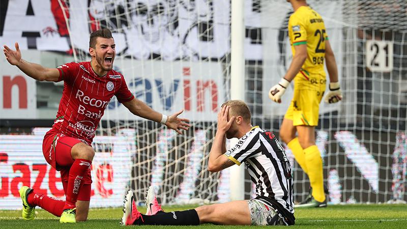 Samenvatting Sporting Charleroi - Zulte Waregem