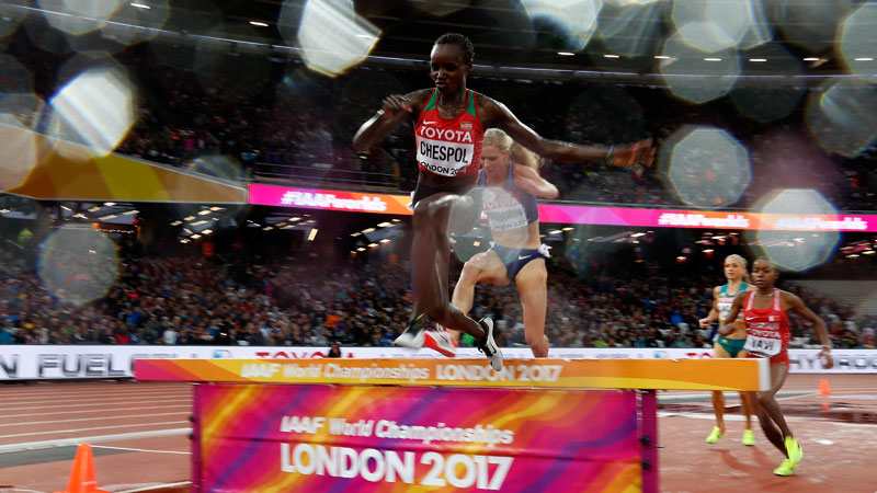 IAAF World Championships Day 6: Chespol, Krause, Jebet, Yavi, and Kirui advance to steeple final