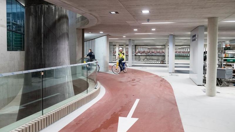 In Utrecht opent grootste fietsenstalling ter wereld