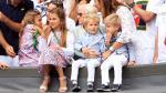 Kinderen Federer snappen niet waarom papa prijs krijgt