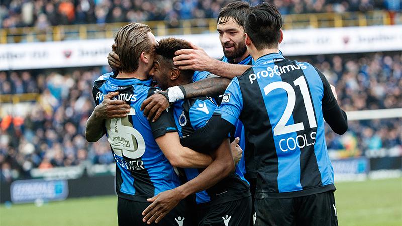 Dominant Club Brugge zegeviert tegen Anderlecht