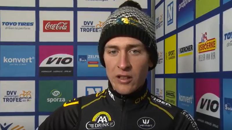 Aerts: 'Heel goed resultaat ondanks zware trainingen'