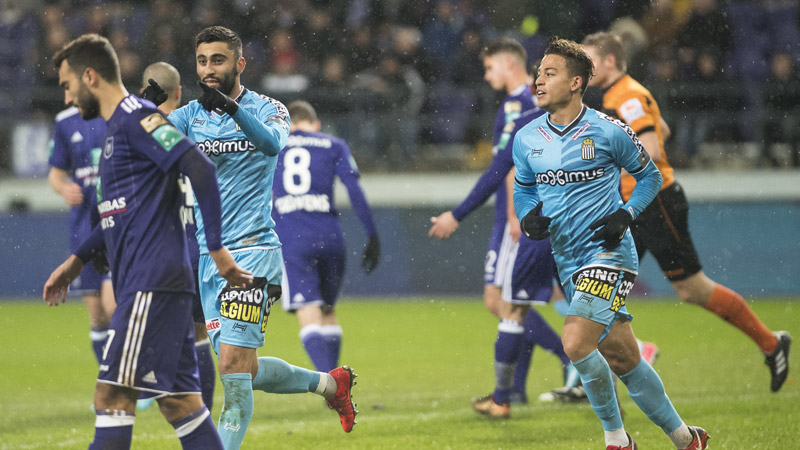 Sterk Charleroi pakt zege in Anderlecht
