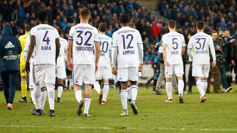 Anderlecht s'excuse: 'De telles prestations sont inacceptables'