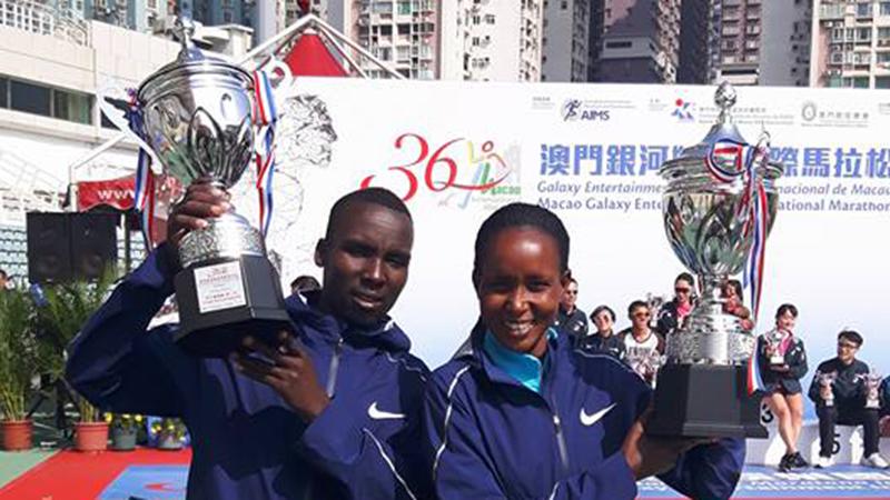 Broer en zus winnen dezelfde marathon