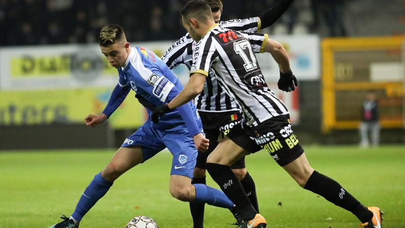 Genk raapt een puntje in Charleroi