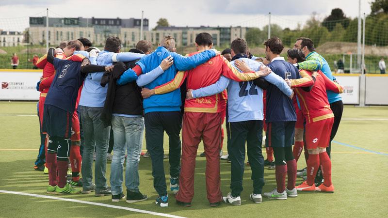 Kerstactie Pro League ten voordele Belgian Homeless Cup gestart!