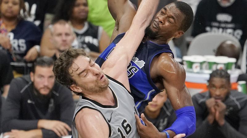 Dallas tombe San Antonio malgré le retour de Leonard (VIDEO)