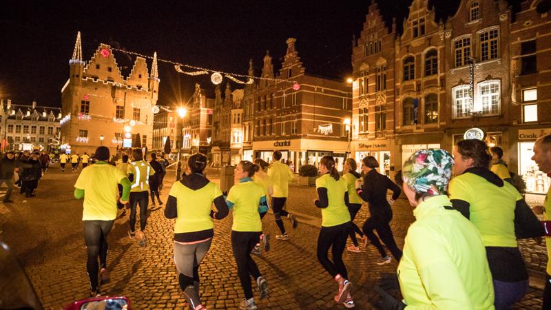 Le Gazet Van Antwerpen Urban Trail Mechelen clôture en beauté les NN Urban Trail Series 2017