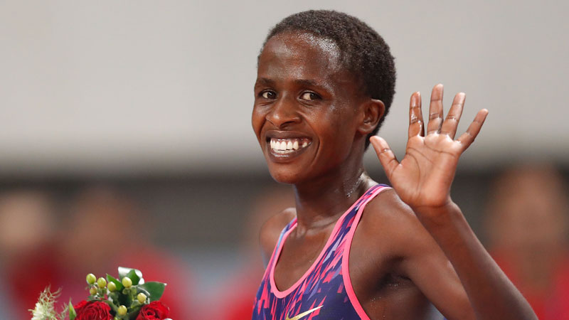 Ruth Jebet receives no. 2 world ranking by Track & Field News